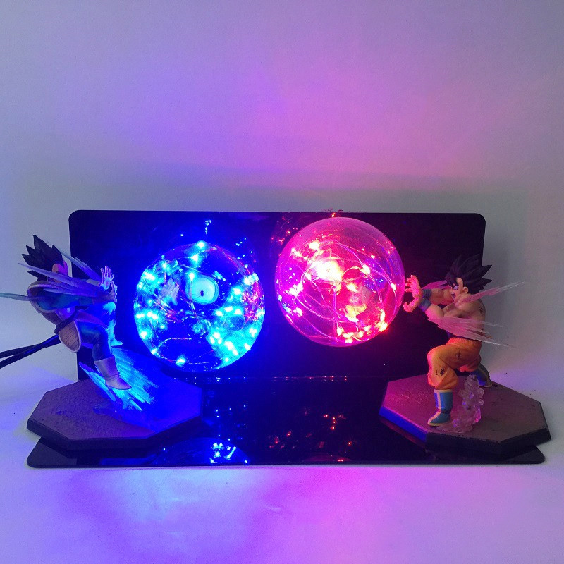 New Dragon Ball Z Kids Toy Gift Action Figures Night Lamp DIY Anime Model Creative Bedroom RGB Lamp Baby Dolls LED Night Light