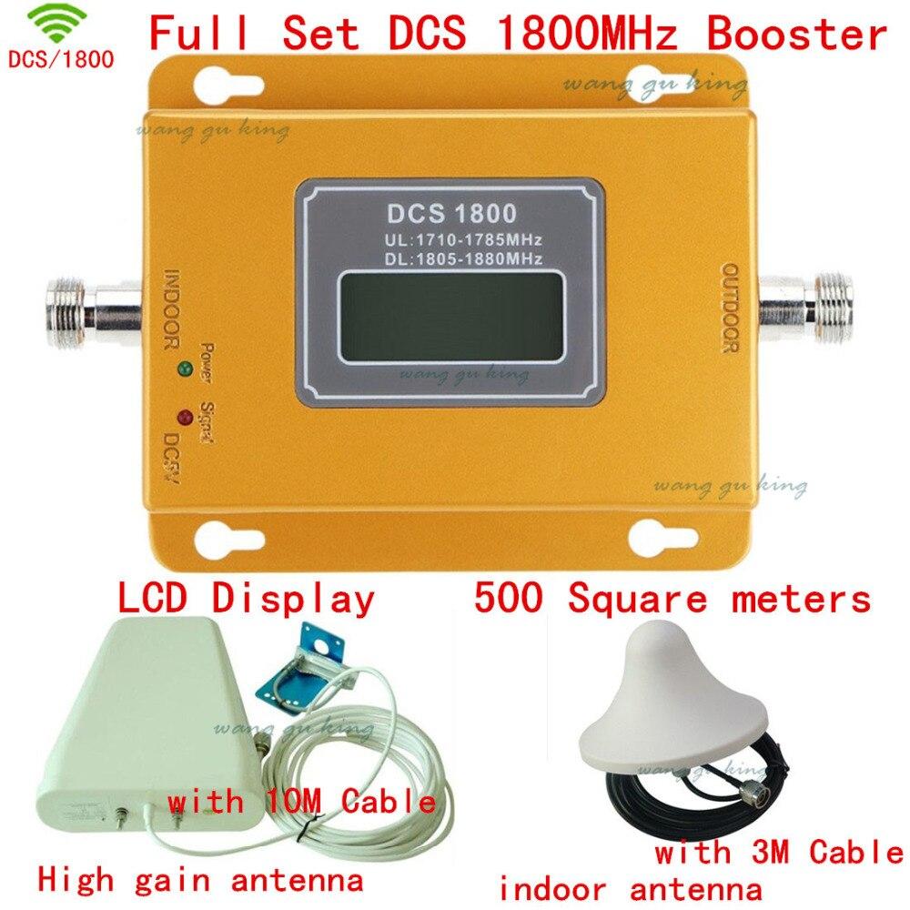 High Power Full Set 4G DCS Cellular Signal Repeater Signal Booster Dcs 1800 Mhz Cellpone Signal Repeater DCS Booster Amplifier