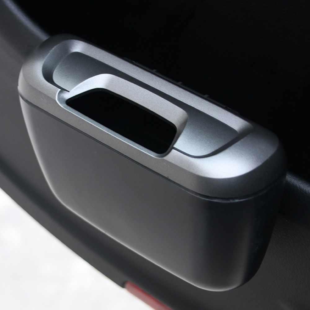 חדש סל מיני רכב אוטומטי רכב אשפה אבק מקרה מחזיק תיבת סל Xzy0096b יכול פח אשפה ב את אביזרי רכב