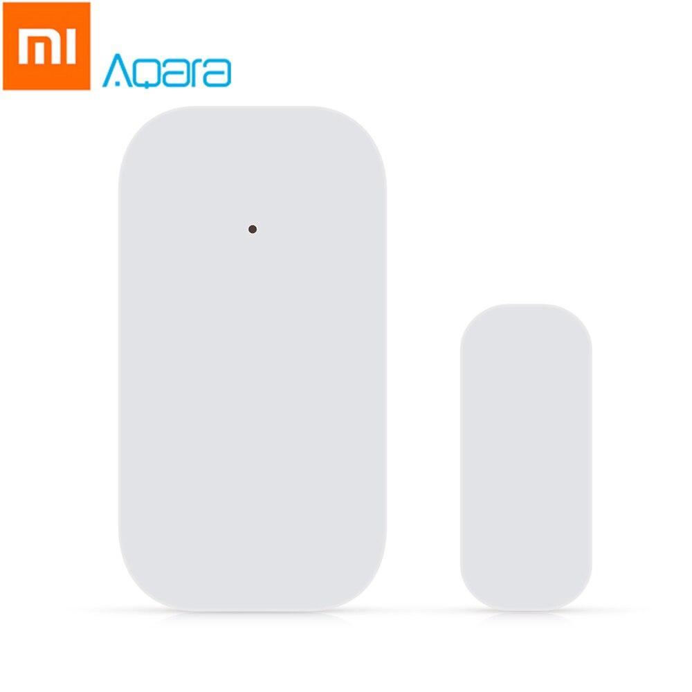 цена на Original Xiaomi Aqara Smart Window Door Sensor Mijia Intelligent Sensors Home Security Equipment W/ ZigBee Wireless Connection