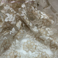 Viscose Fabric Rayon Fabric Transparent Shading Lace Fabric Embroidery Fabric 130cm 5yards Lace Dress Fabric