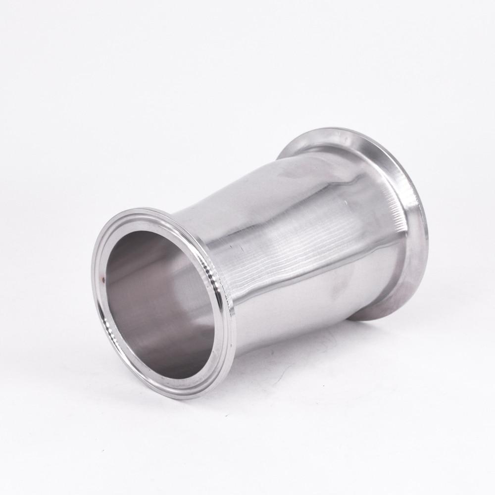 Rohrverbindungsstücke Sanitär 76mm Bis 63mm Rohr Od 3 zu 2,5 Tri Clamp Minderer Sus 304 Edelstahl Sanitär Rohr Fitting Homebrew