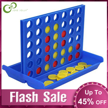 1Set Connect Four In A Line Board Classical Game Funny Family Parties Entertainment Gifts Educational Math Fun Toy Mini Size GYH