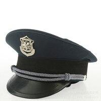 Мужские общественной безопасности персонала cap армии Косплей военный Шапки полиции шляпа Хэллоуин Рождество подарок фестиваль Новый год и ...