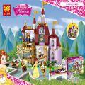 LELE Princesa Palacio Castillo de Cenicienta Amigas Building Blocks 379 unids Lepin Ladrillos de Juguete Para Niños de Cumpleaños Compatible 219