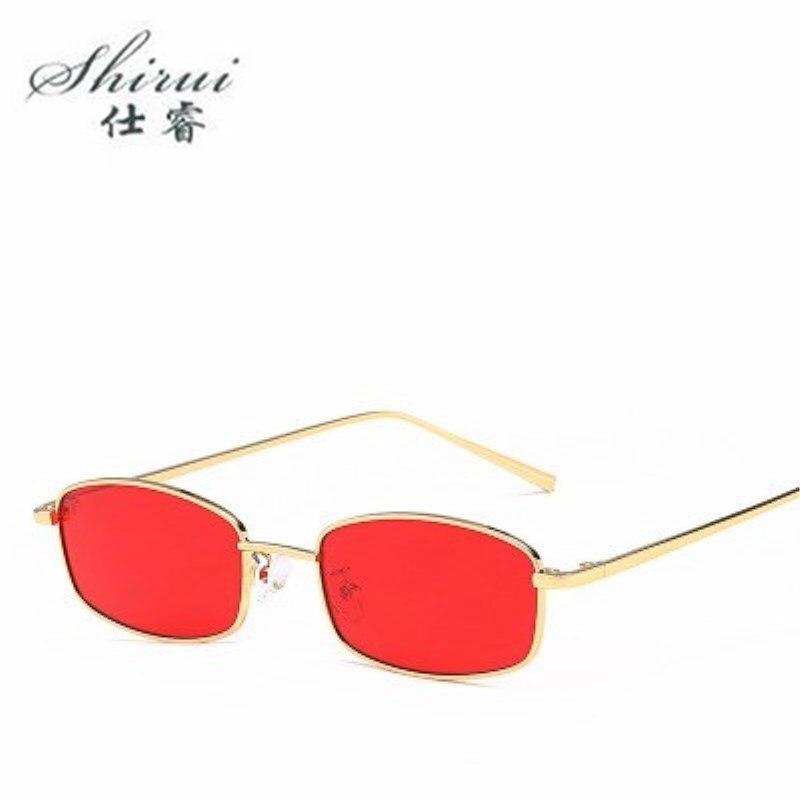 Small Cat Eye Sunglasses Women Vintage Unique Design Rectangle Sun Glasses for Fashion Frame Retro Sunglass okulary