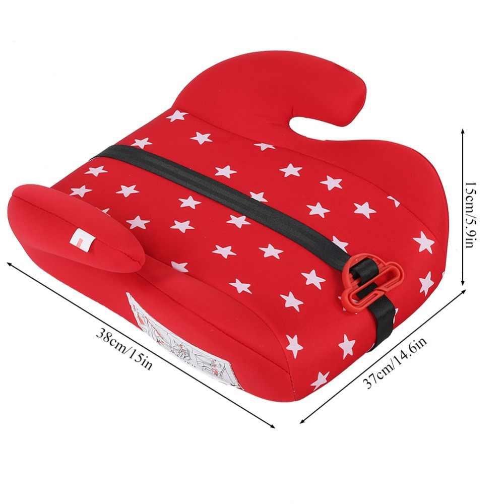 เด็กทารกความปลอดภัยรถ Booster Seat Multi-Function Thicken เก้าอี้เบาะฟองน้ำเพิ่มเบาะท่องเที่ยวทารกสายรัดที่นั่ง