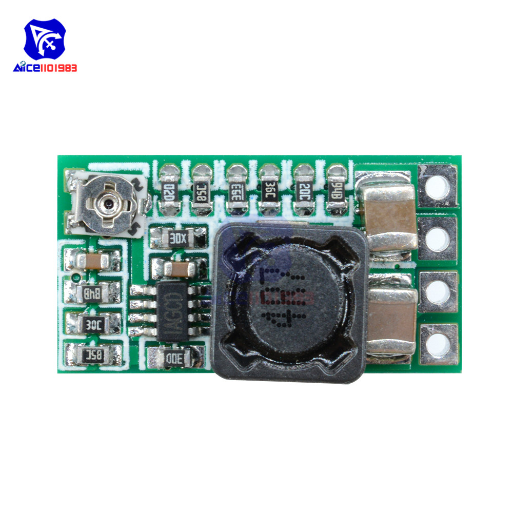 2PCS Mini DC-DC 12-24V To 5V 3A Step Down Power Supply Module Voltage Buck Adjustable Converter 1.8V 2.5V 3.3V 5V 9V 12V