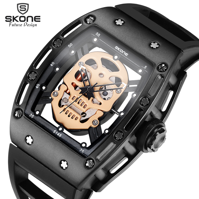 Pre Sale Products 2017 Skone Skull Watch Men Quartz Watches Only For VIP Customers Priority Shipping
