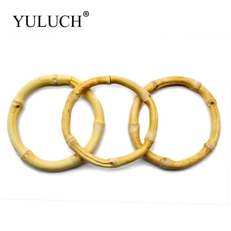 Женский браслет YULUCH, очень большой браслет из натурального бамбука, ювелирное изделие в подарок