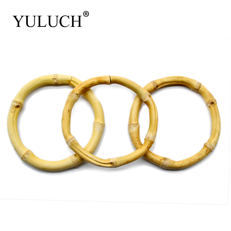 YULUCH Extra Large Circle Natural Bamboo Simple Bangles Bracelet Jewelry For Women/Ladies Present/gift Hyperbole Round Style