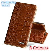 QH15 Wallet genuine leather flip case for Huawei P Smart phone case for Huawei Enjoy 7S back case with card slots free shipping