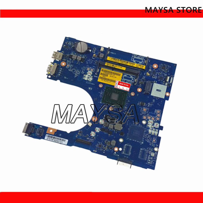 High Quality AAL12 LA-C142P For Dell Inspiron 5555 5455 Laptop Motherboard WITH CPU DDR3 100% Tested Fully Fast Ship