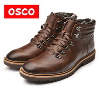 OSCO Warn Fur Lining Winter Men Warm Boots Warmest Casusl Style Men Winter Boots MB998501P