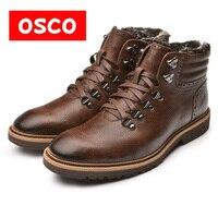 OSCO Warn Fur Lining Winter Men Warm Boots Warmest Casusl Style Men Winter Boots MB998501P