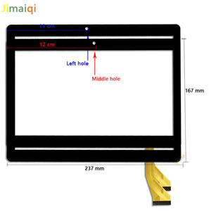 Image 2 - New For 10.1 inch Tablet PC kingvina PG1027 touch screen panel Digitizer Sensor replacement