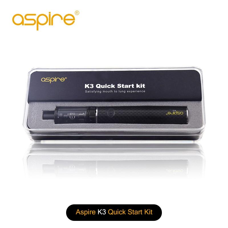 100% originele Aspire K3 snelstartkit (2ML K3-tank en 1200 mah - Elektronische sigaretten
