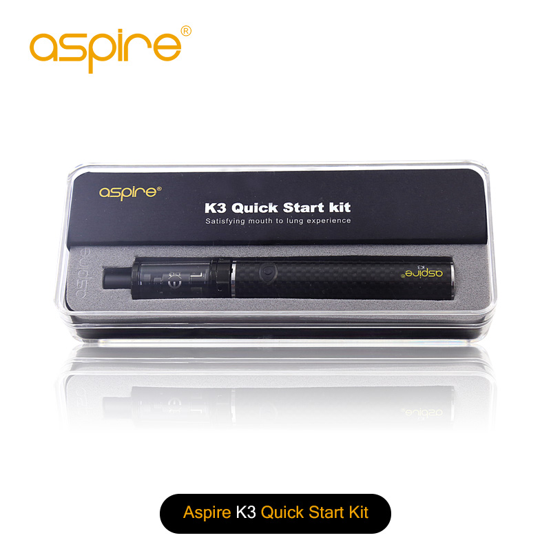 100% Original Aspire K3 Quick Start Kit (2ML K3 Tank y 1200mah K3 - Cigarrillos electrónicos