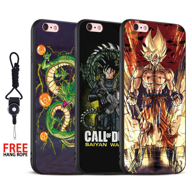 2017 APPLE Dragon Ball iPhones Cases (Many Models) X 6s 7