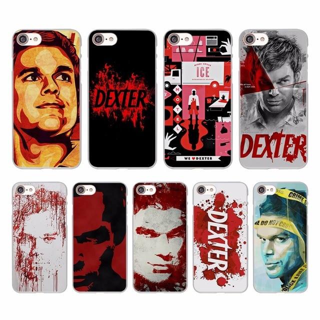 Tv Show Dexter Morgan Design Hard White Skin Case For Apple Iphone S