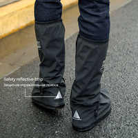Reusable Waterproof Shoe Covers For Motorcycle Cycling Bike Boot Rain Cover Raincoat for Shoes In Creek Rainy And Snowing Day