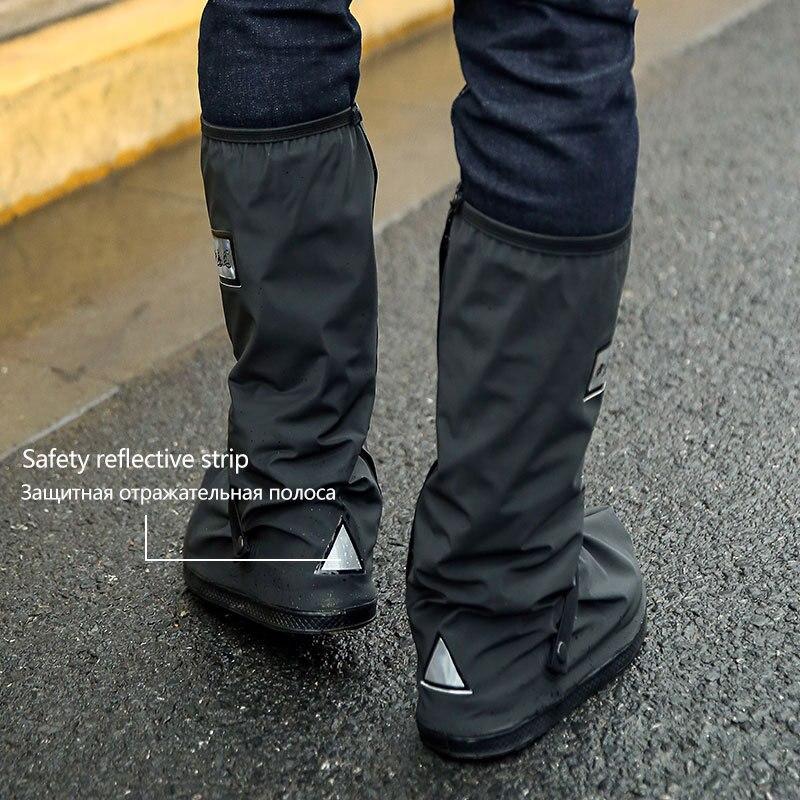 Wiederverwendbare Wasserdichte Schuh Abdeckungen Für Motorrad Radfahren Bike Boot Regen Abdeckung Regenmantel für Schuhe In Creek Regnerischen Und Schneit Tag