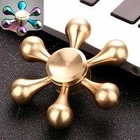Hand Spinner Golden Snitch Fidget Spinner Heart Tri Finger Spinner Brass Spiner Comes Anti Relieve Stress