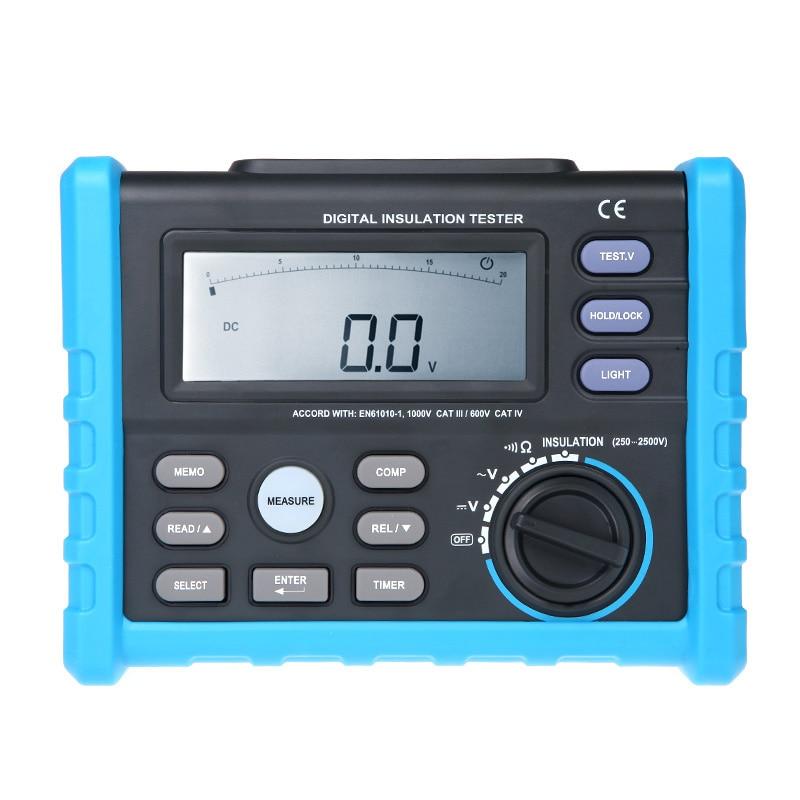 Digital Insulation Tester Meter High Performance megger  250V~2500V esr meter precision Multimeter diagnostic-tool