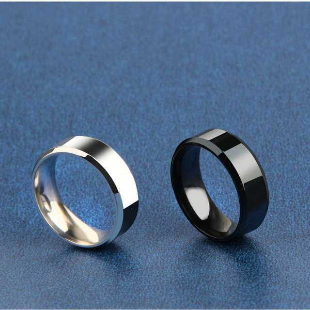 Titanium Ring Men 2