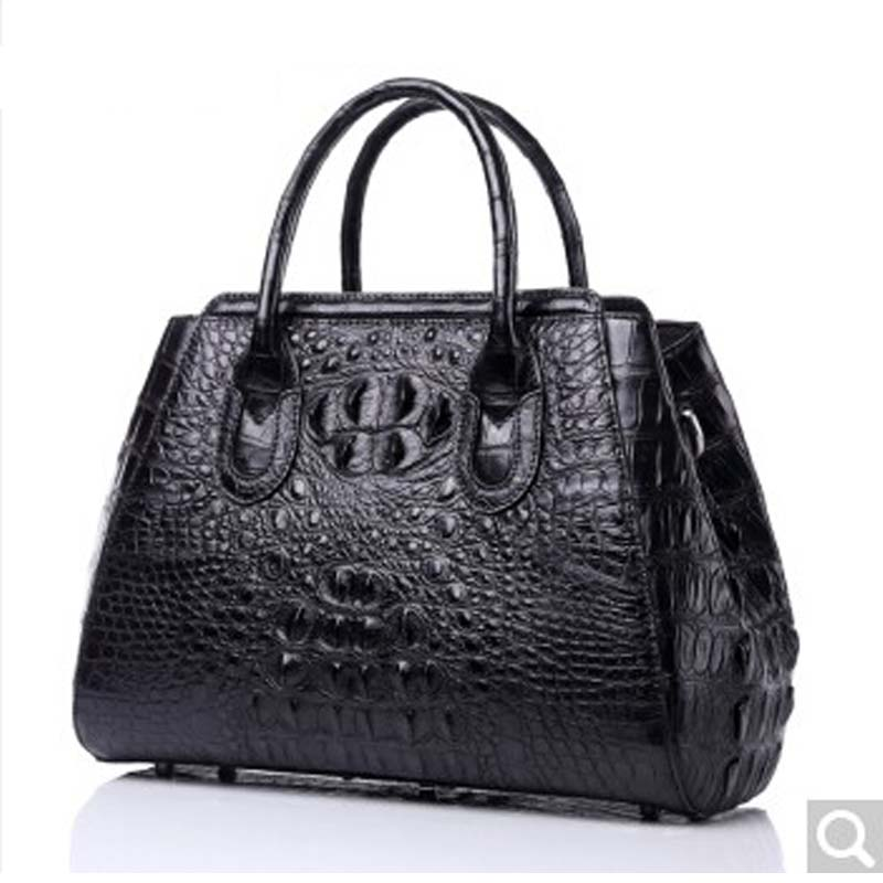 luodungongniu Handbag female new single shoulder men handbag large capacity messenger bag casual woman bag crocodile leather ноутбук msi we72 7rj 1067ru 17 3 1920x1080 intel core i7 7700hq 9s7 179577 1067
