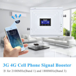 Image 3 - Lintratek 3G GSM 4G مكرر إشارة 4G LTE 1800 GSM 1800MHz 3G UMTS 2100Mhz LCD الهاتف المحمول إشارة الداعم مكبر للصوت مجموعة كاملة.