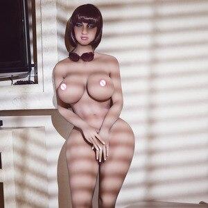 Image 4 - 巨乳 170 センチメートル本物のシリコーンセックス人形尻アナル膣経口セクシーなおもちゃ大人のラブドール巨大なおっぱい男性のための