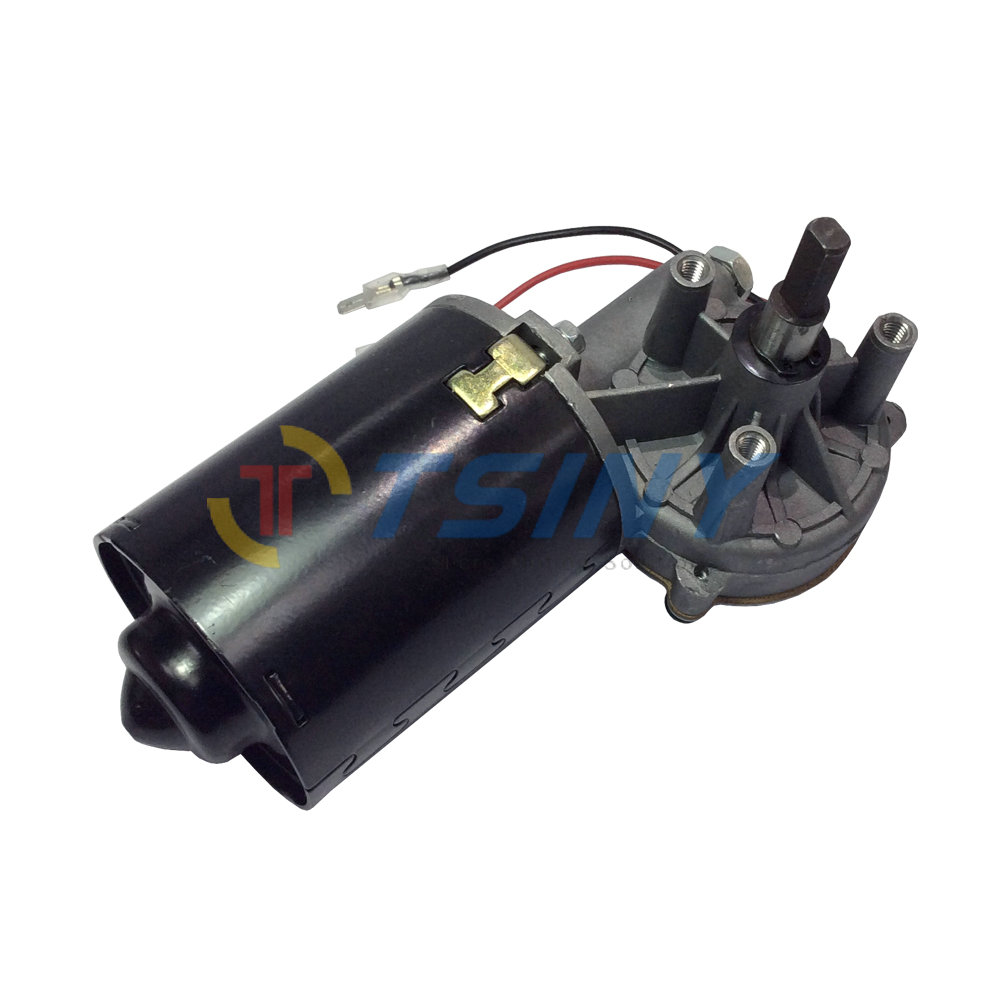 24v electric worm gear motor dc 24v 45rpm garage door for Garage door replacement motor