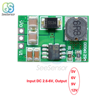 3.5A DC-DC Step-up Boost Voltage Converter Module 3V 3.3V 3.7V to 5V 6V 9V 12V Power Supply Module Board цена