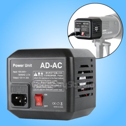 Godox AD-AC Power Source AC Wall Adapter with Cable for AD600B AD600BM AD600M AD600 цена