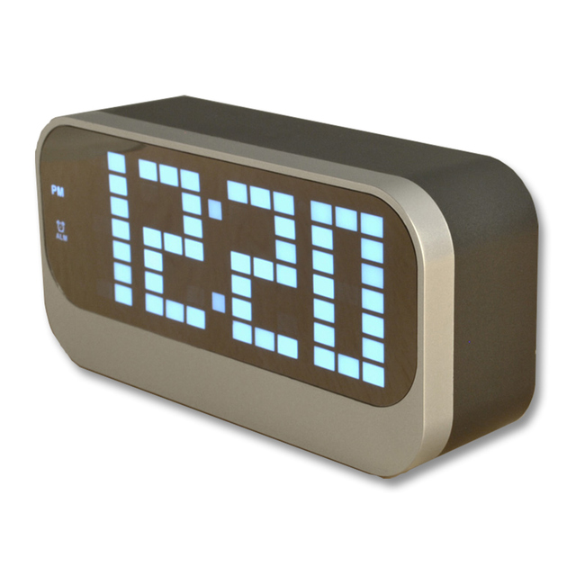 Multi Color Large Display LED Screen Indoor Room Thermometer ...