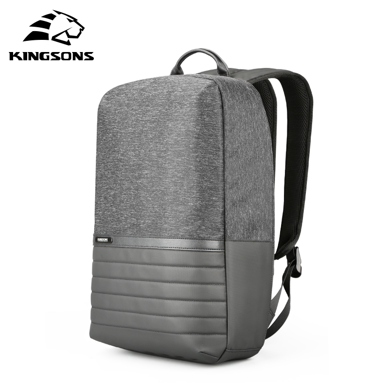Kingsons 15 inch Laptop Backpack USB Charging Anti Theft Backpacks Men Travel Backpack Waterproof School Bag Male Mochila-in Backpacks from Luggage & Bags    1