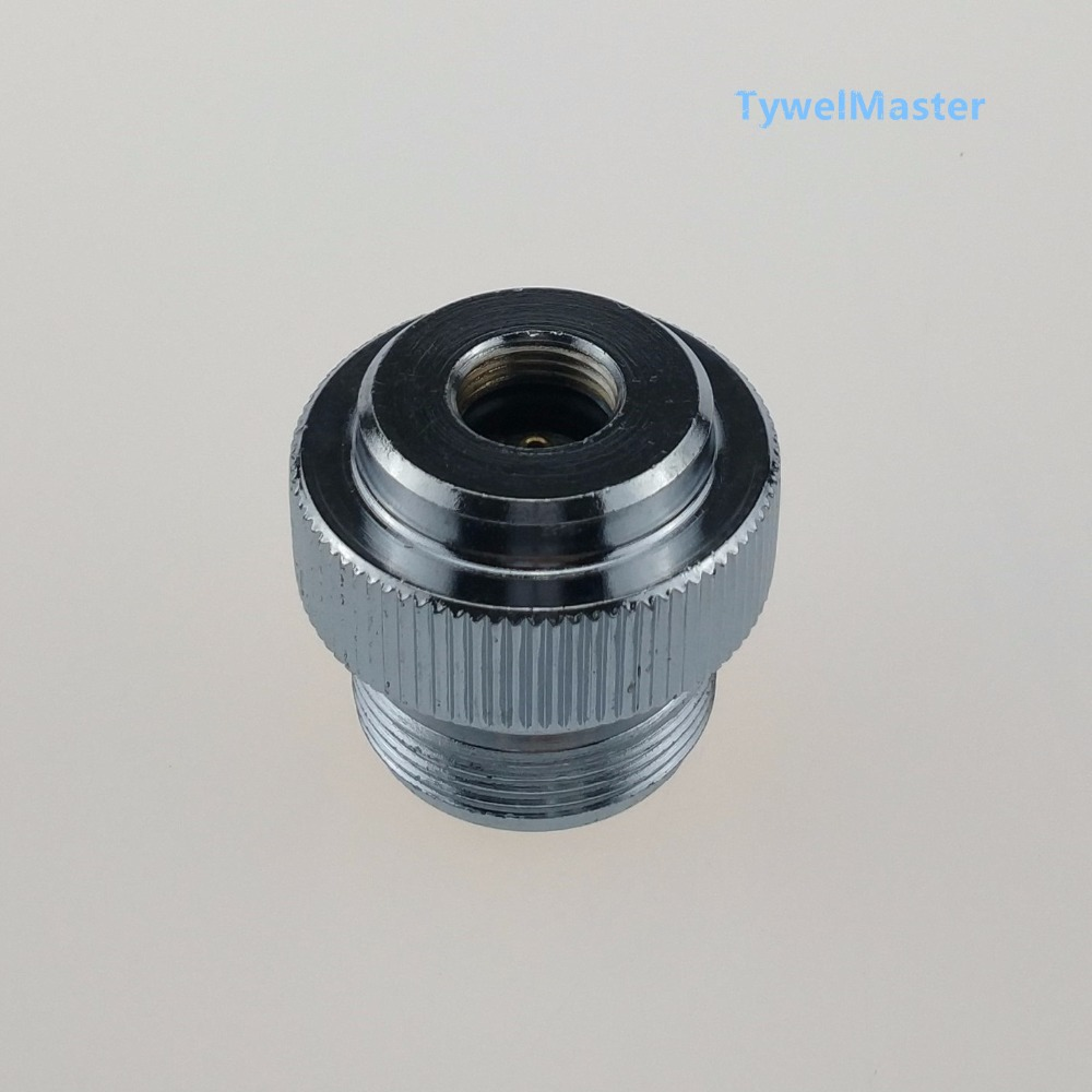MAPP Torch Adaptor CGA600 to 7/16-28UNF for MAPP Braze Welding Torch to Adapter Most the MAPP Gas Catridge Cylinder