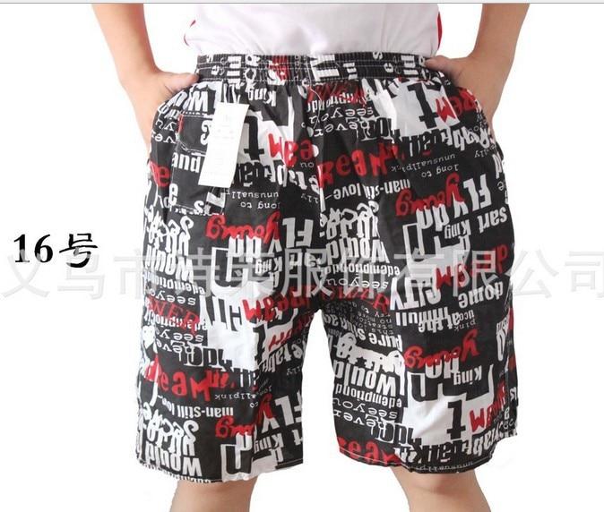 2018 Fashionale Korean Hawaii Beach Men's Pants Shorts  Trousers 100pcs