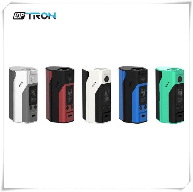 100% Оригинал Wismec Reuleaux RX200S 200 Вт TC Mod Переменной Контроль Температуры с 0.96 Дюймов OLED Экран ПРОТИВ Reuleaux RX2/3 RX200