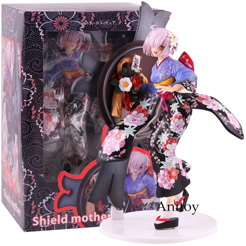 액션 피규어 운명 그랜드 주문 shielder 매쉬 kyrielight pvc collectible model toy-에서액션 & 장난감 숫자부터 완구 & 취미 의  그룹 1