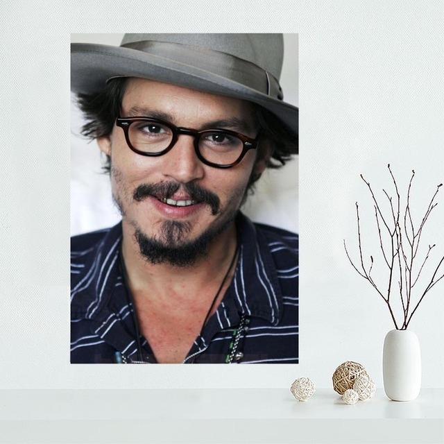 New Products Johnny Depp Wall Art Canvas  4