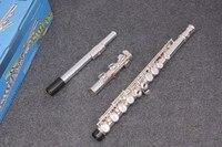 Япония флейта YFL 371H флейте C мелодия 16/17 открытым Музыкальные инструменты ключ Флейта E профессиональные музыкальные Бесплатная доставка
