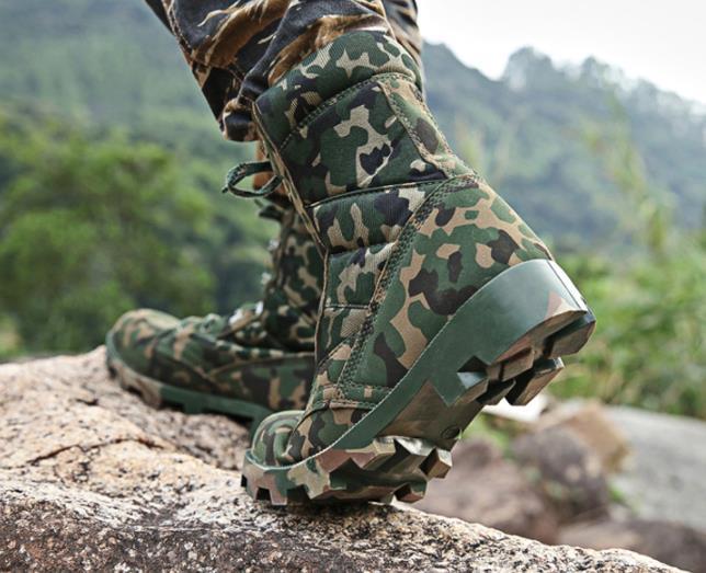Armée Camouflage Combat multi Sécurité 39 46 Des Tactique Désert Cheville Hommes Chaussures Green Lacent Étanches Noir De Taille Militaire Bottes Army SRx5n