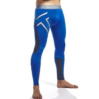 76f363da7 Pantalones largos ajustados de malla para hombre