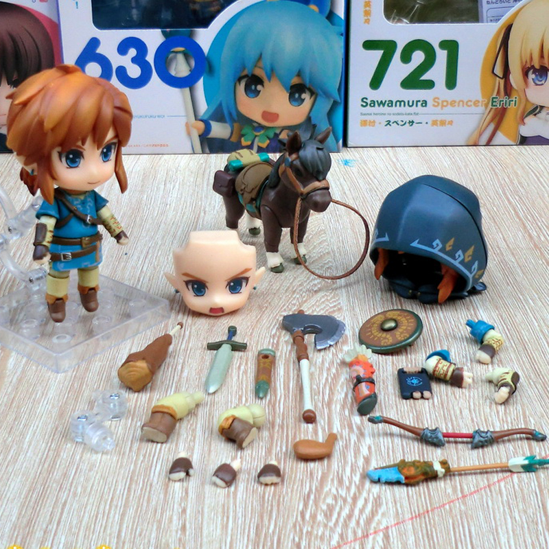 Hot Selling Good Smile Nendoroid Link Zelda Figure Breath of the Wild Ver DX Edition Deluxe Version Action Figure In BoxHot Selling Good Smile Nendoroid Link Zelda Figure Breath of the Wild Ver DX Edition Deluxe Version Action Figure In Box