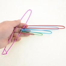 6 шт./компл. мульти-цветная маркерная стежка держатель иглы для вязания Вязание крючком для вязания крючком ткацкое шитье инструменты