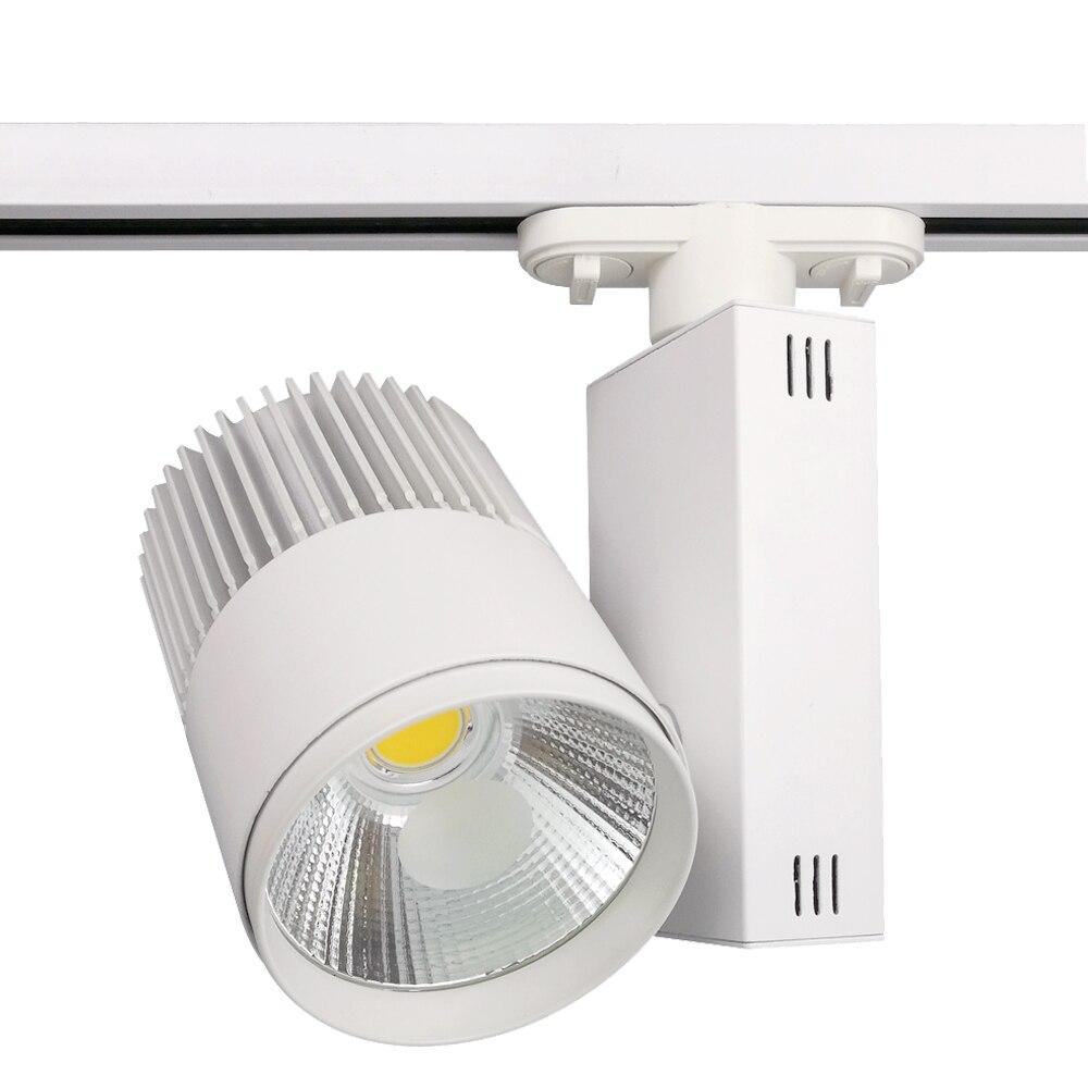 2019 Go Ocean Track Lighting Led Lamp 30w Black White Aluminum Modern Spot Light Rail Systems From Burty 243 72