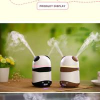 Panda Aromatherapy Air Humidifier Oil Aroma Diffuser Fragrance Machine Super Quiet Free Ship Drop Shipping 2017d19