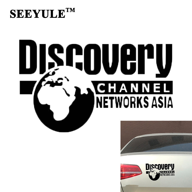 1pc SEEYULE Car Sticker DISCOVERY CHANNEL NETWORKS ASIA National Geographic Earth Creative Car Decal Styling Sticker cambium networks ptp650 где
